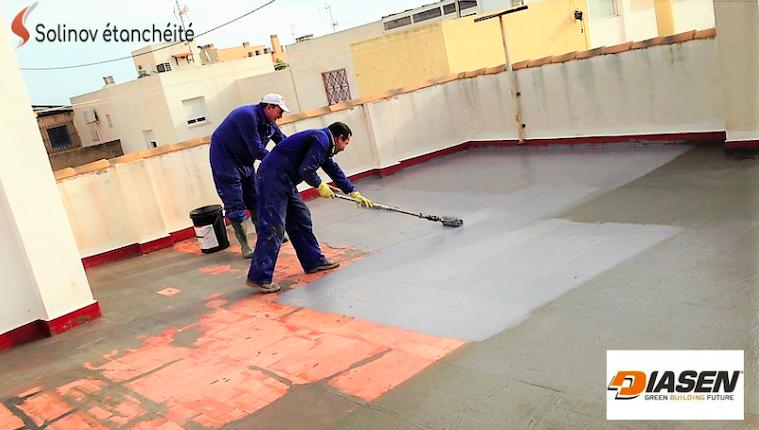 produit étanchéité toit terrasse piscine