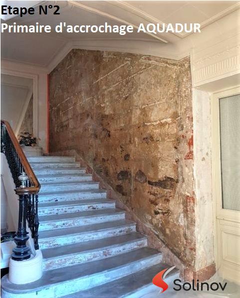 rénover mur ancien humide